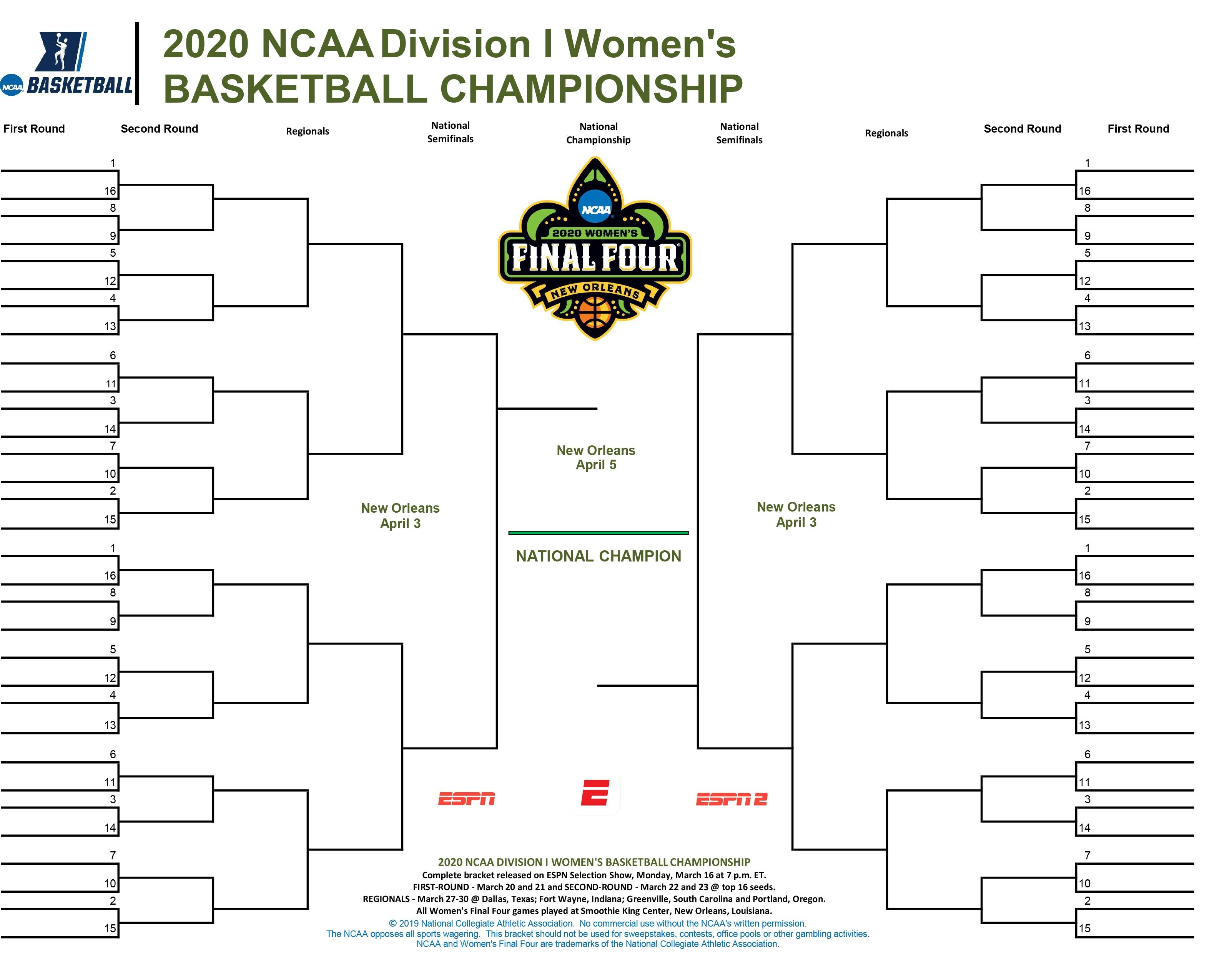 It is a picture of Influential Printable March Madness 2020 Bracket