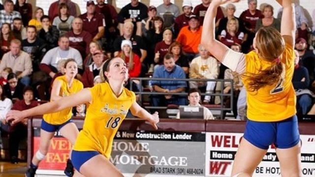 division II, Volleyball, Angelo State