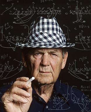 Alabama coach Bear Bryant