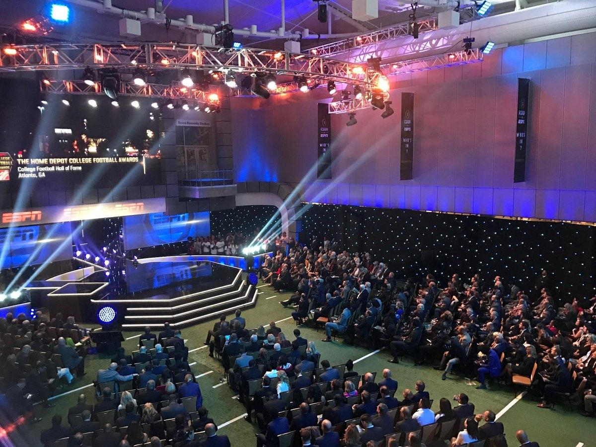 Finalists And Winners From The College Football Awards Show