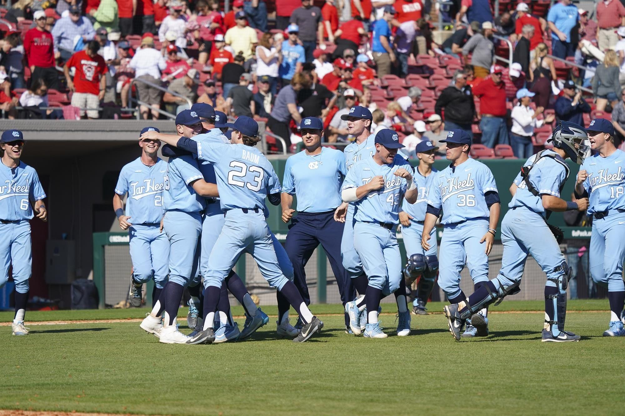 UNC sweeps rival NC State in Raleigh for first time in