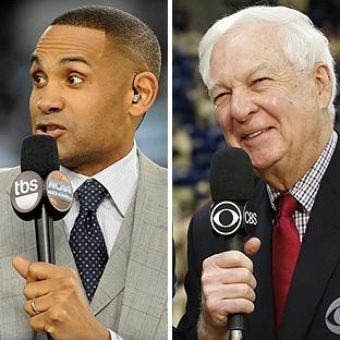 Grant Hill and Bill Raftery