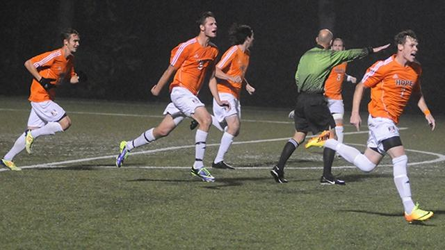 Men's Soccer, Division III, Hope