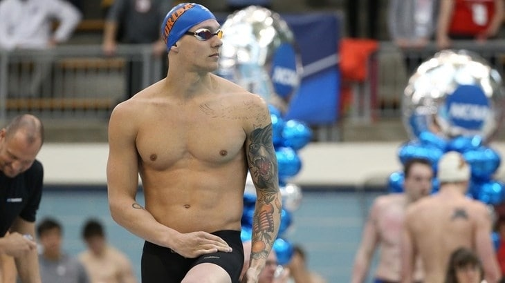 f4684d83054c6 Dressel swam the 50 free in 18.11 seconds, breaking the American record  which he had previously set.