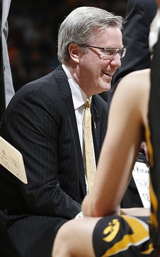 Iowa coach Fran McCaffery