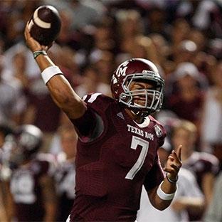 Texas A&M quarterback Kenny Hill