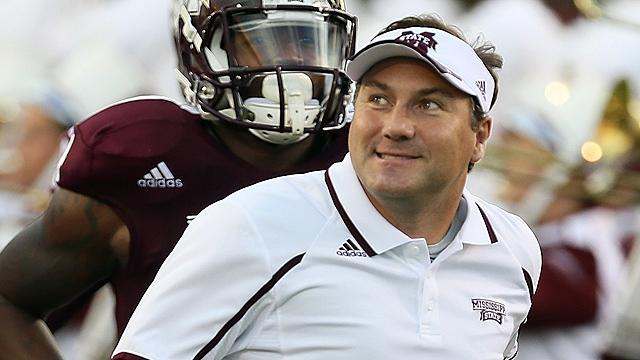 Mississippi State football coach Dan Mullen
