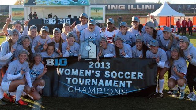 Women's Soccer, Division I, Nebraska, Big Ten
