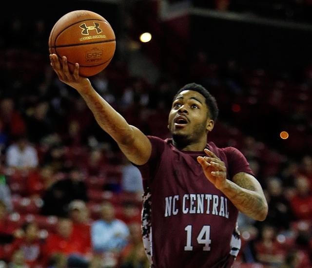 North Carolina Central's Jeremy Ingram