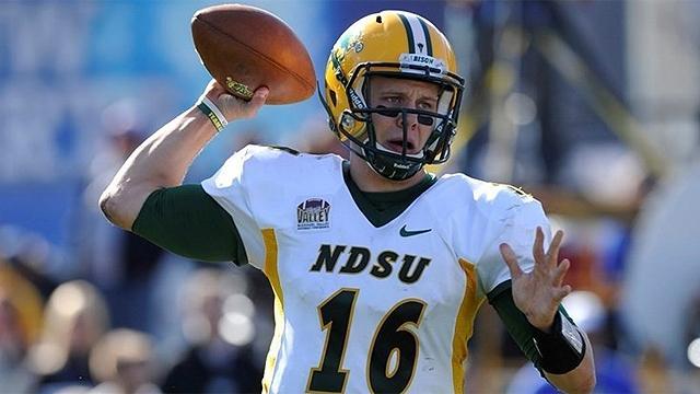 North Dakota State's Brock Jensen
