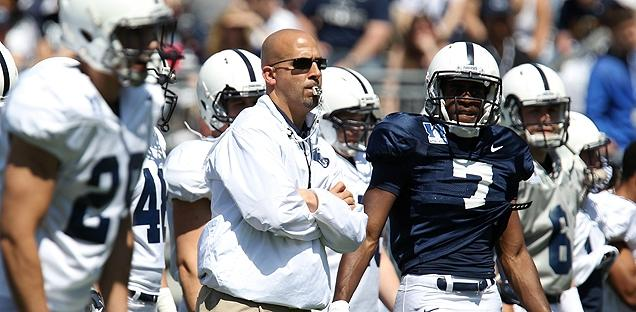 Penn State football coach James Franklin