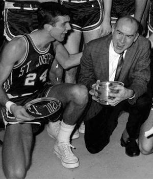 Jack Ramsay won 234 games at Saint Joseph's.