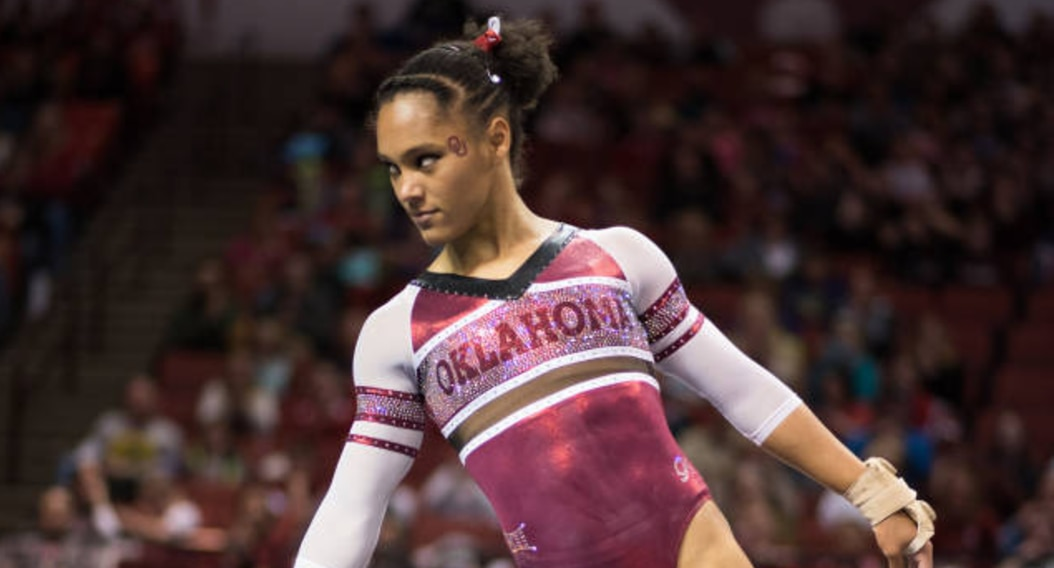 Oklahoma got a first-place finish at the GymQuarters Mardi Gras Invitational .