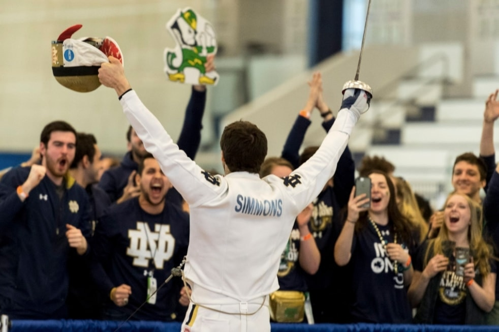 d422e81a Notre Dame clinches program's 10th national fencing title | NCAA.com