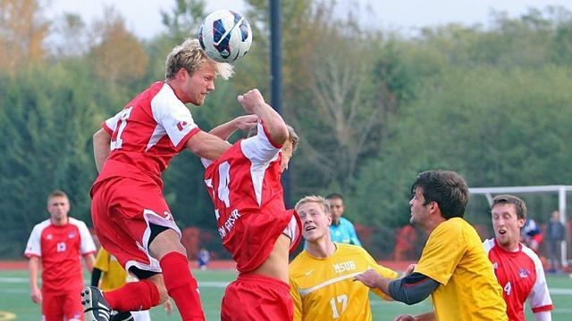 mens soccer, division II, Simon Fraser