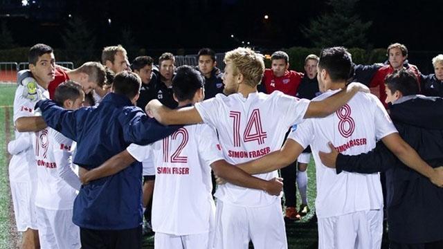 Men's Soccer, Division II, Simon Fraser