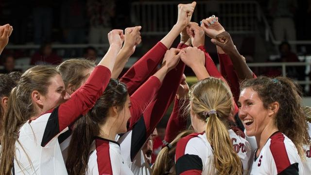 NCAA Volleyball, Division I, Stanford, sweeps