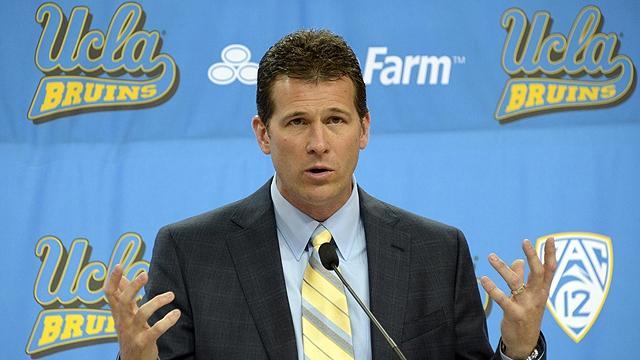 UCLA head coach Steve Alford
