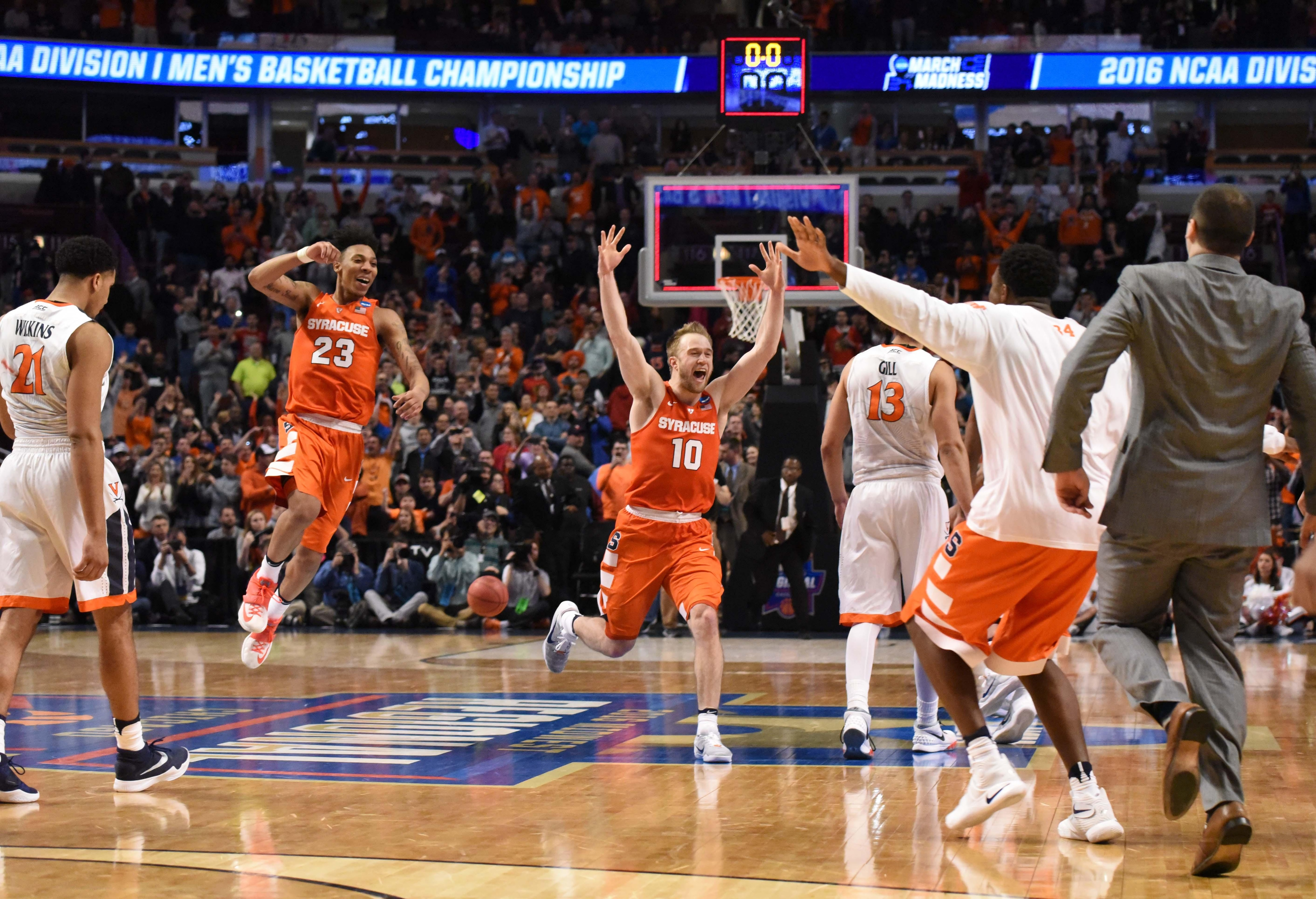 Syracuse is the only 10 seed to reach the Final Four.