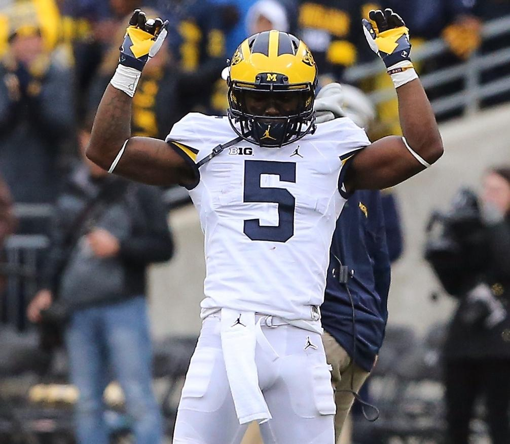 6194d6c5467 Michigan star Jabrill Peppers (5) announced he will leave for the NFL a  year early.