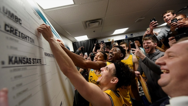 UMBC moves name on the board