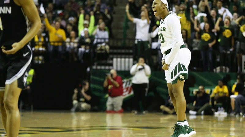 Baylor upset No. 1 UConn women's basketball on Thursday.