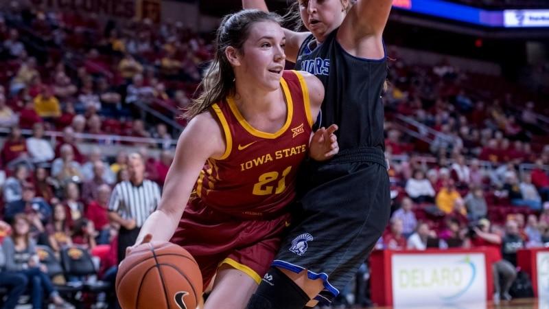 Bridget Carleton leads Iowa State women's basketball