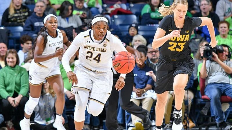 Arike Ogunbowale headlines the women's basketball Wooden Award midseason watch list