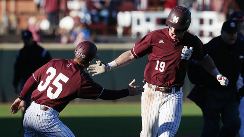 Brent Rooker had a monster 2017 for Mississippi State baseball.