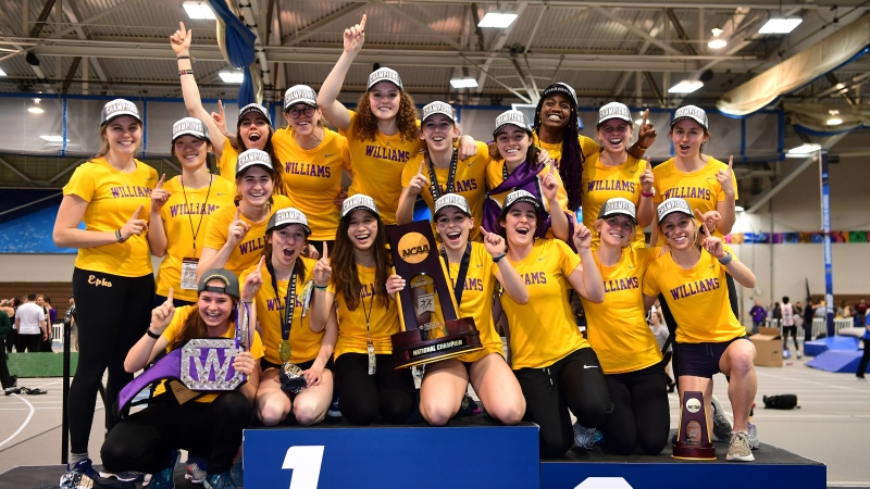 2ca3737f Williams women win DIII Indoor Track & Field national title