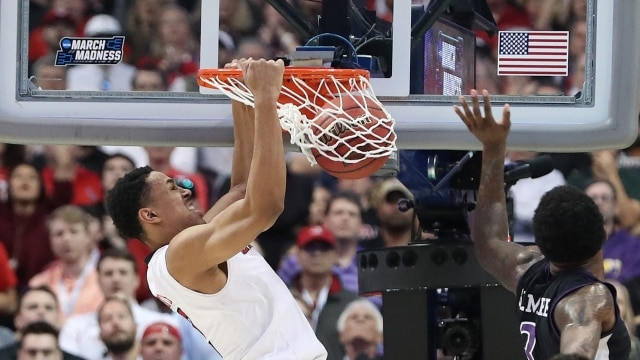 Check out the NBA Slam Dunk Contest participants  best college dunks ... 5bca6736b