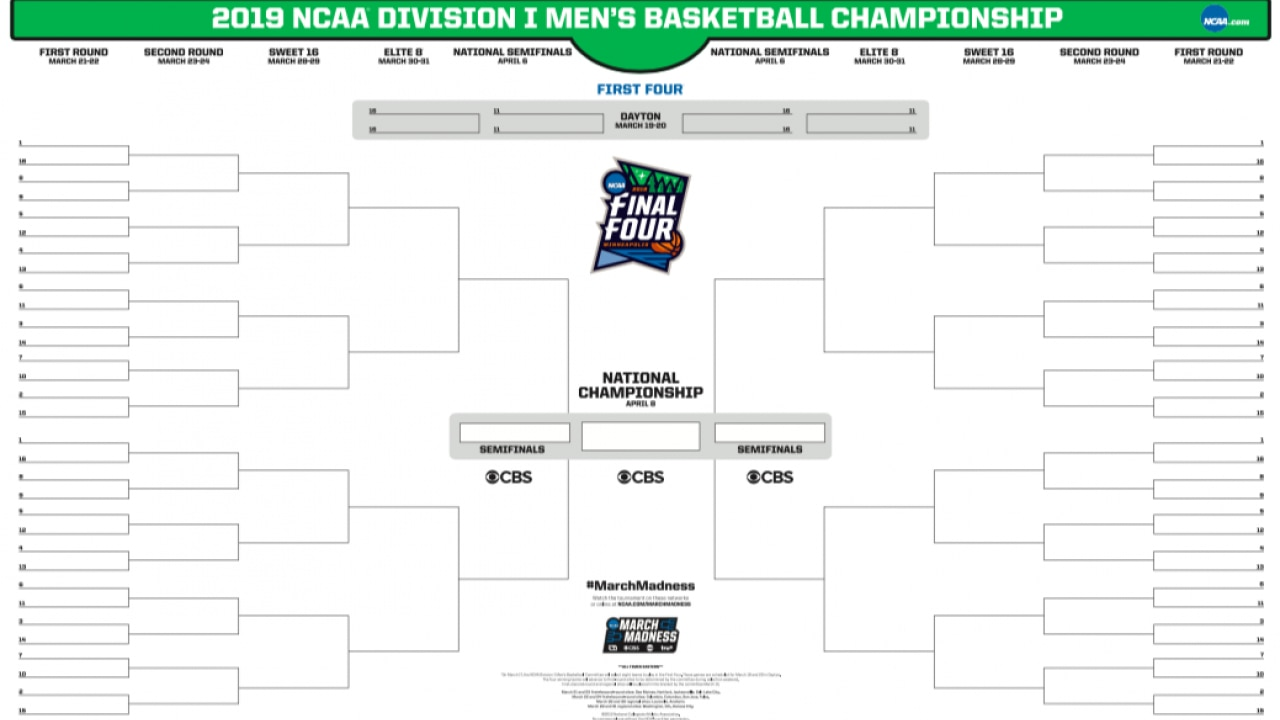 It is a picture of Crush Printable Ncaa Bracket With Records
