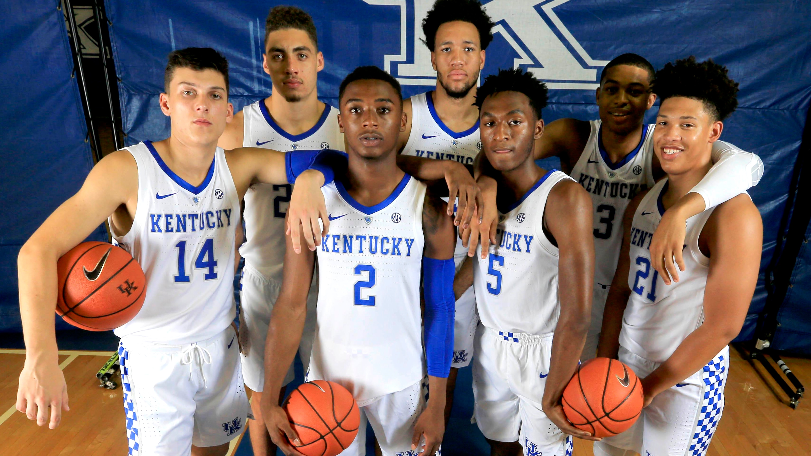 competitive price e4c9e 3dc26 Kentucky Wildcats look promising in SEC college basketball