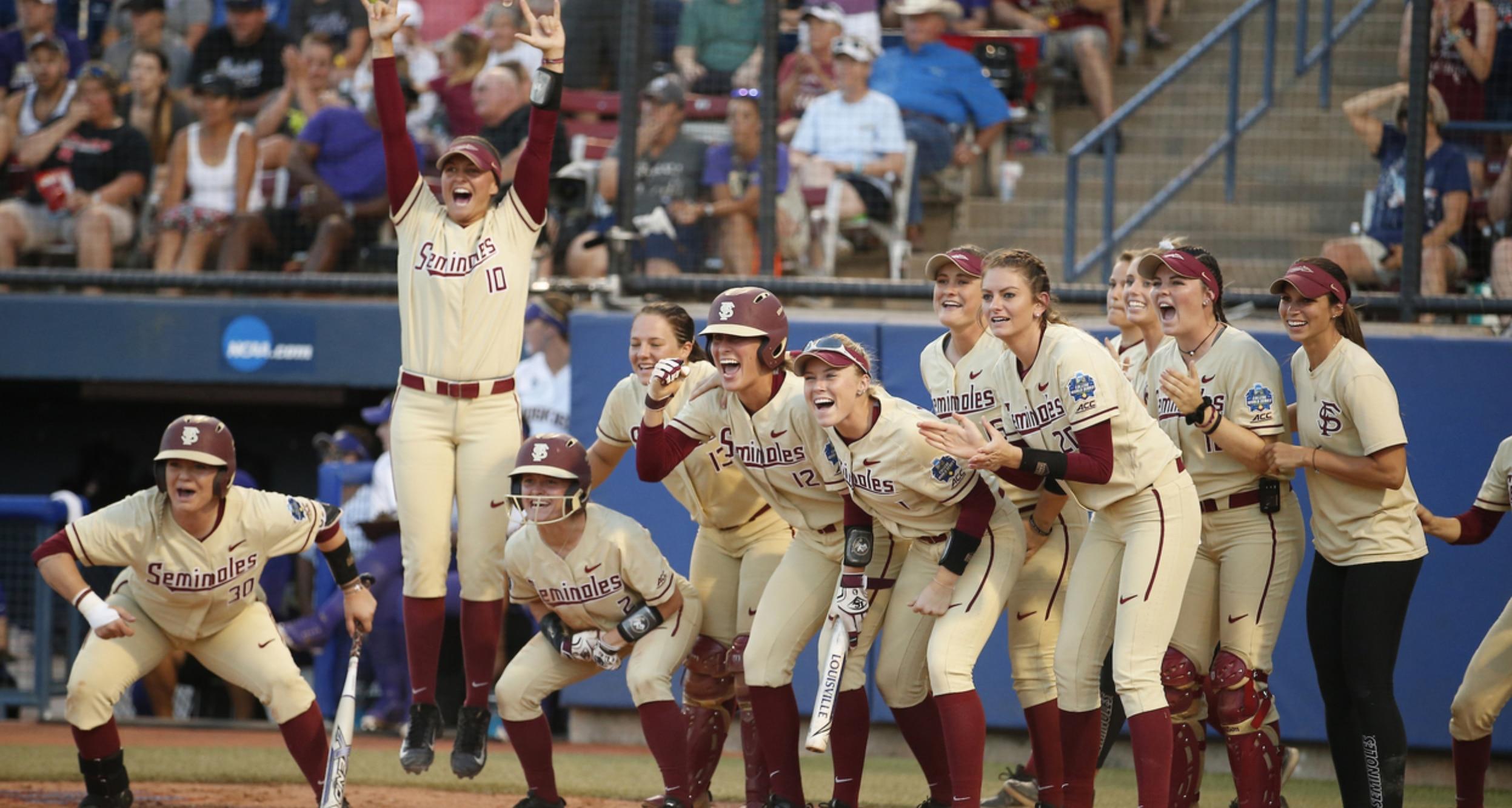 DI Softball Women's College World Series: Florida State's 8 unanswered runs  on Washington help the Noles claim the 2018 Softball Championship