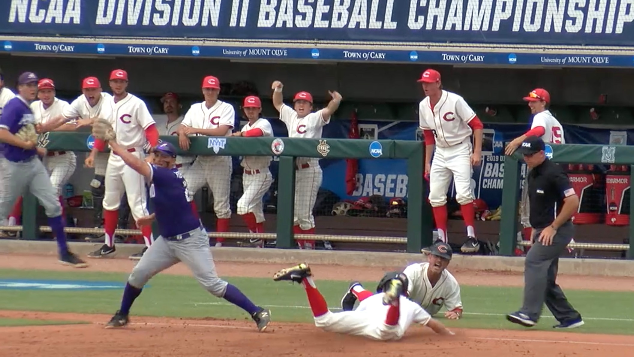 Watch the recap from Day Five of the 2019 DII Baseball Championship