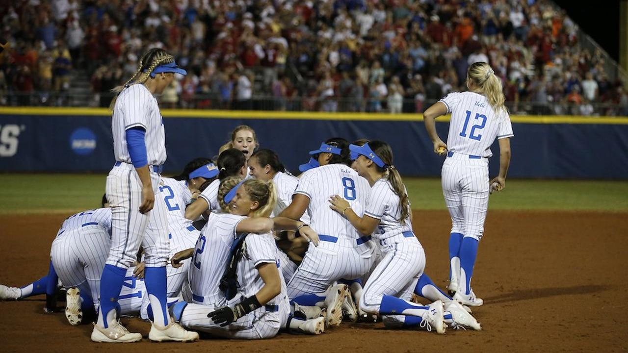 UCLA wins 2019 Women's College World Series on walk-off hit vs  Oklahoma
