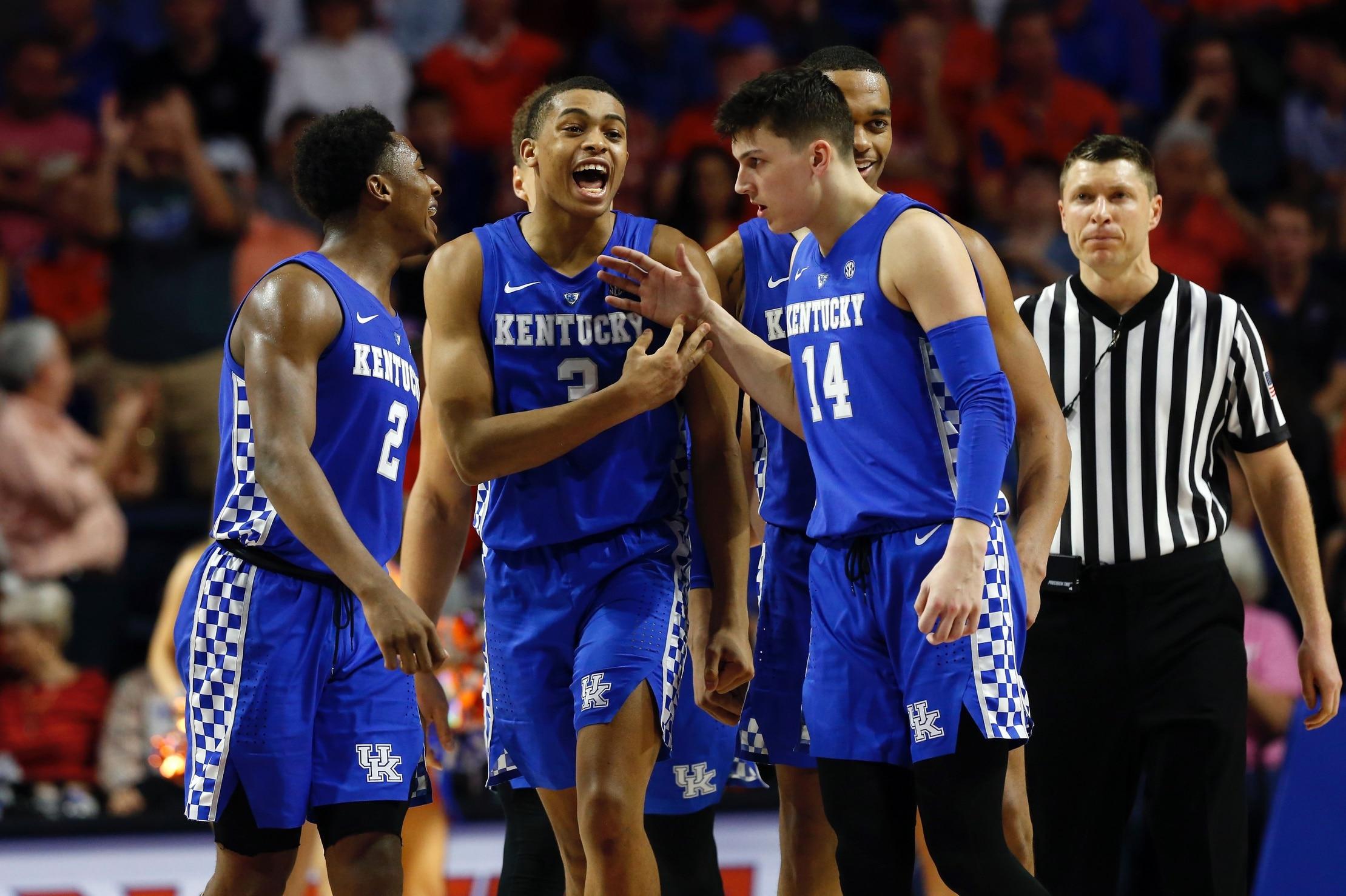 super popular 991ca 467cb NBA Draft: Tyler Herro, Keldon Johnson, and PJ Washington's top NCAA  tournament highlights