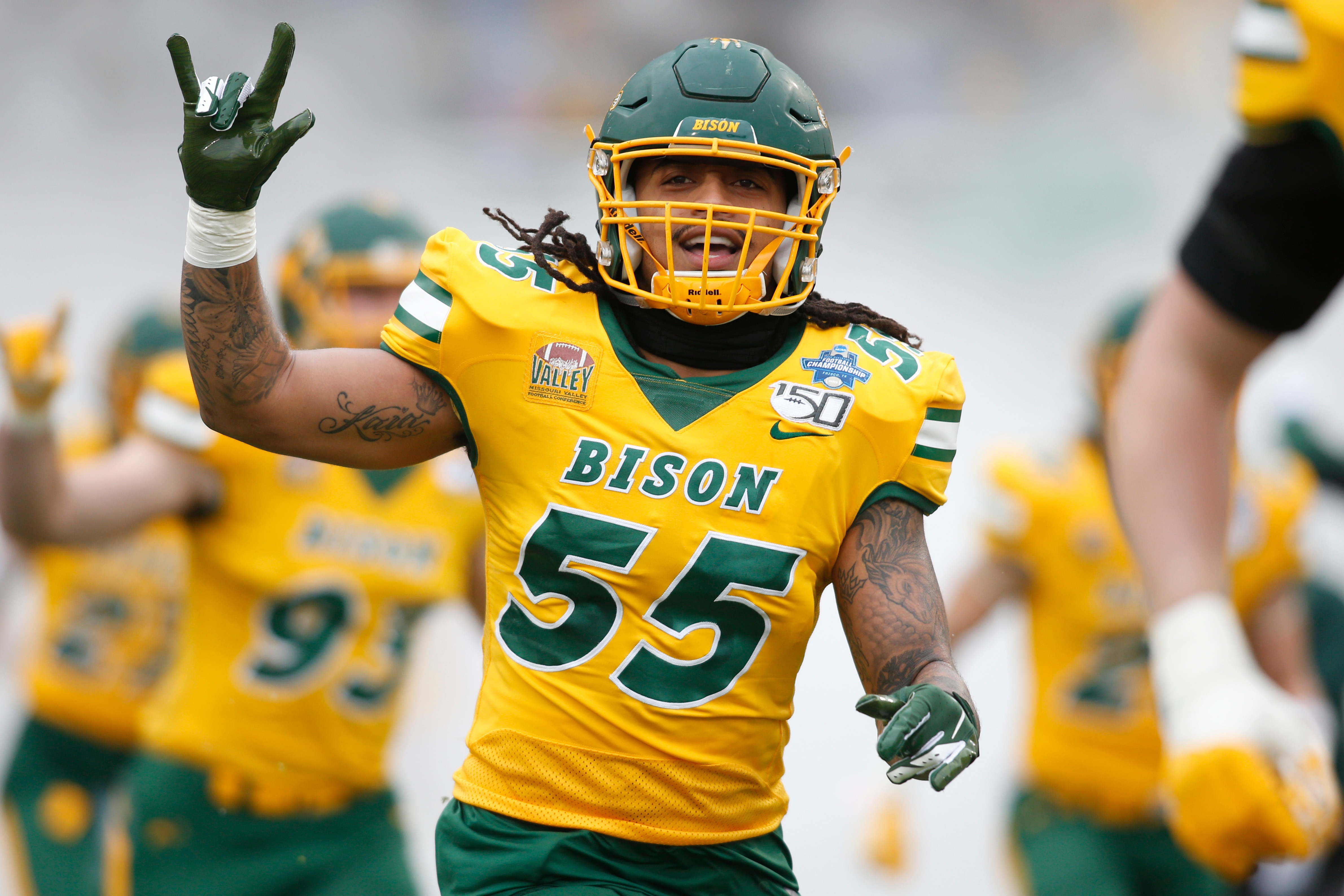 ndsu vs und football 2020