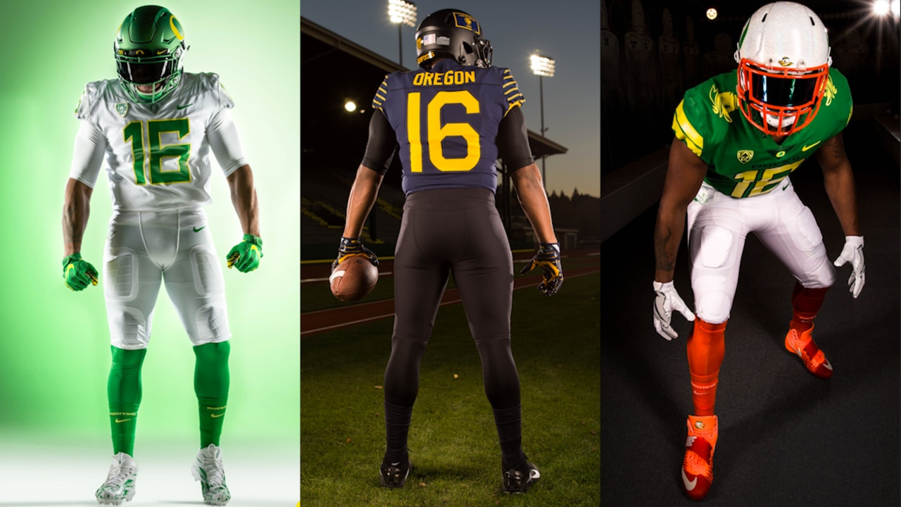 hot sale online c11b7 2189f In this week's Behind the Seams, we're taking a look at our favorite Oregon  uniforms this season