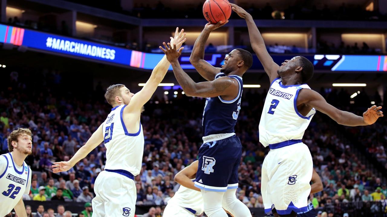 sale retailer 03676 d8e5d Rhode Island takes down Creighton 84-72 in the NCAA men's basketball  tournament.