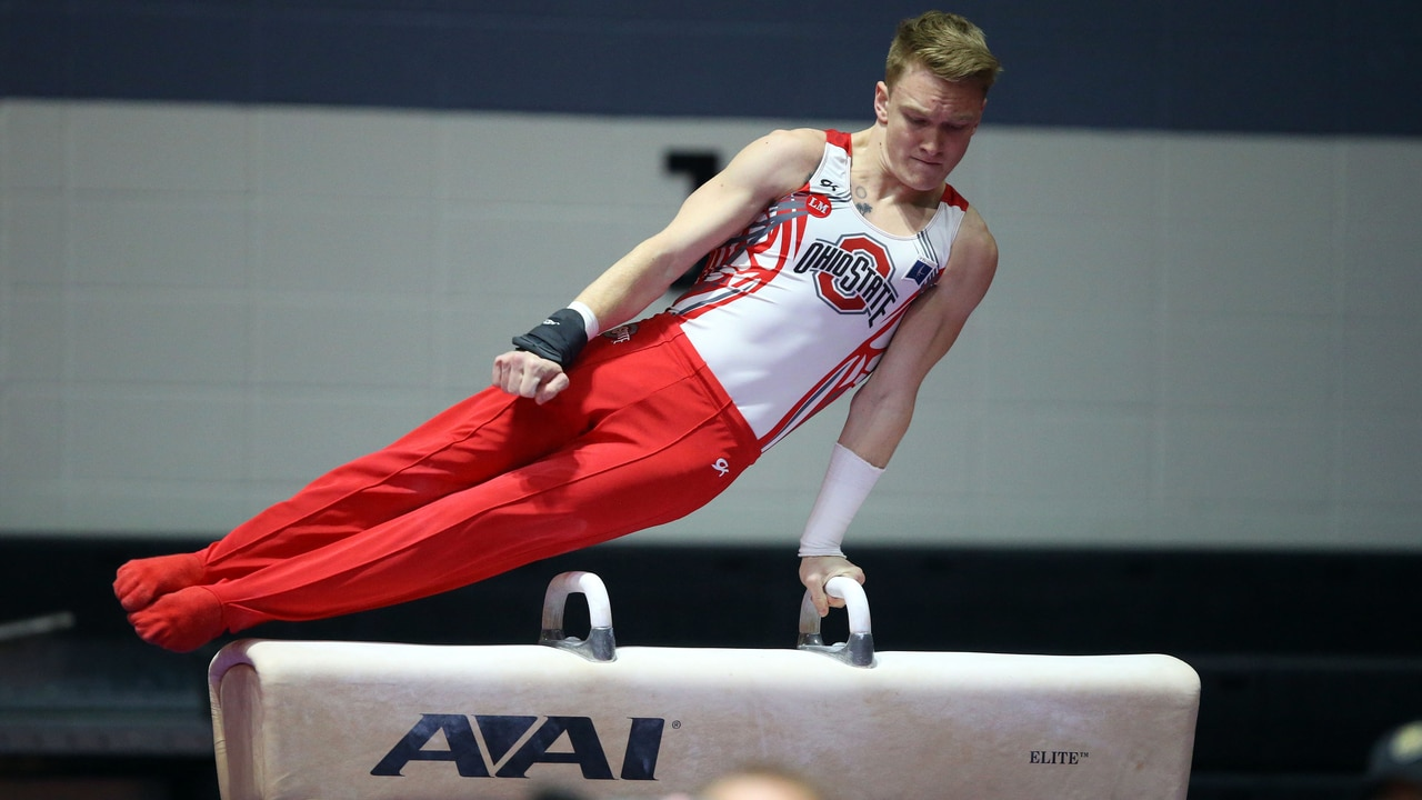 2017 gymnastics championship finals full replay pommel horse ncaa com