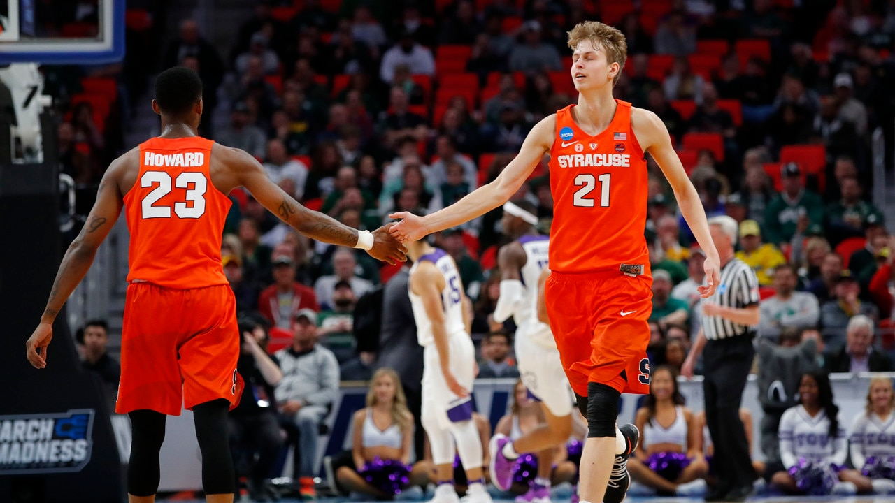 new style b13e4 9b33f First Round: Syracuse advances with a 57-52 win over TCU