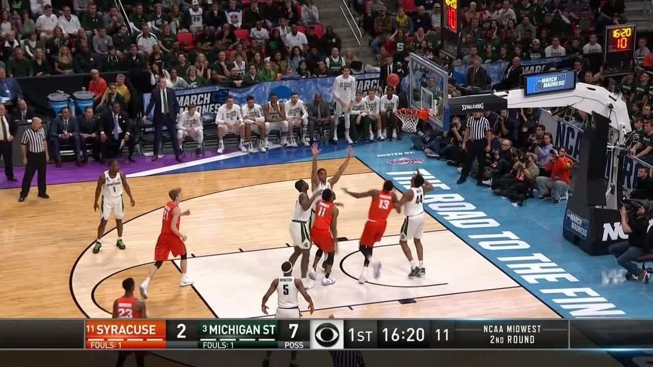 Michigan State Spartans Vs Syracuse Orange Game Highlights Ncaa Com