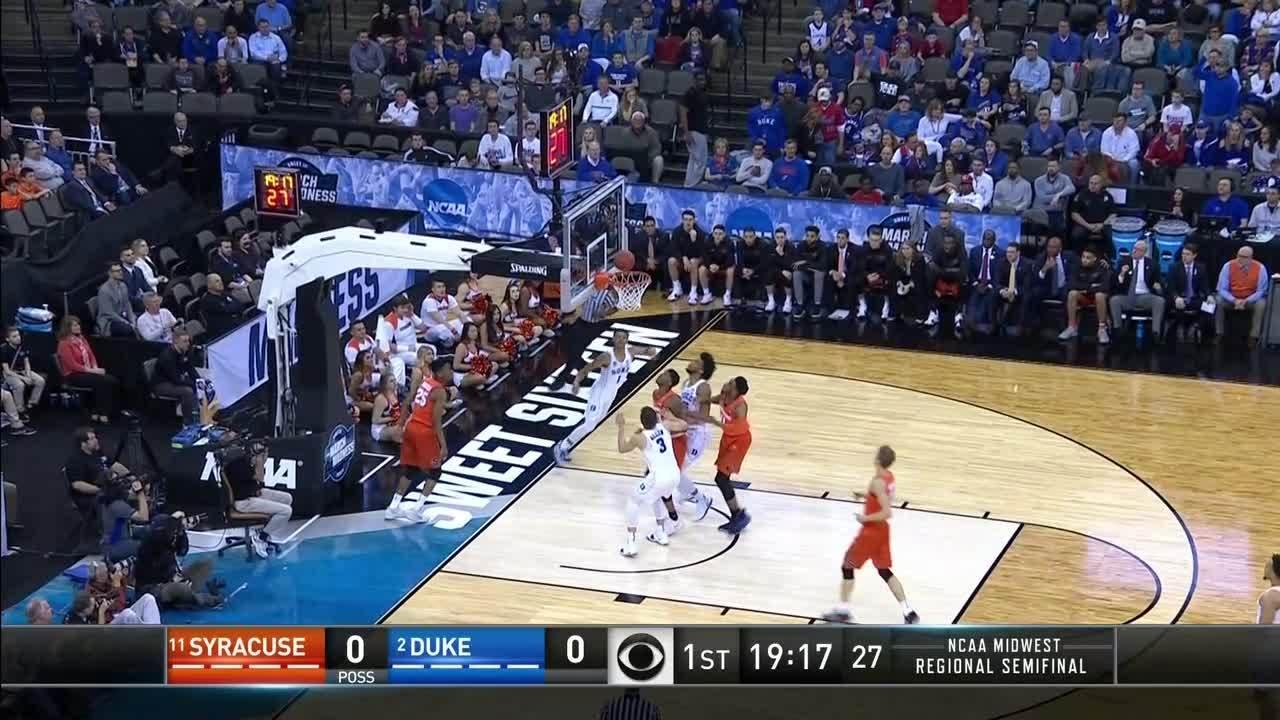 Duke Blue Devils Vs Syracuse Orange 1st Half Highlights Ncaa Com