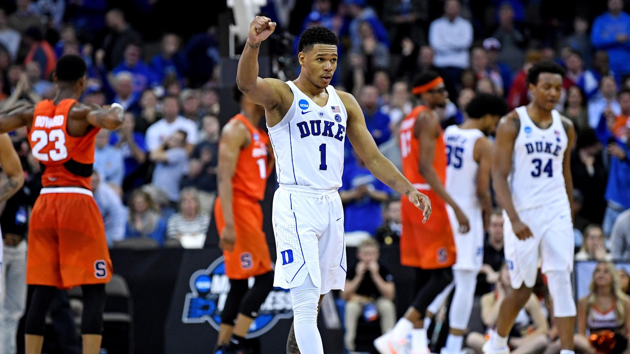 Duke Outlasts Syracuse For A Spot In The Elite Eight Ncaa Com