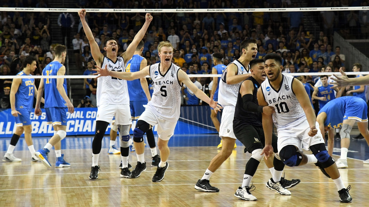 0b3a7c116c40 Long Beach State claims Championship in 5th set
