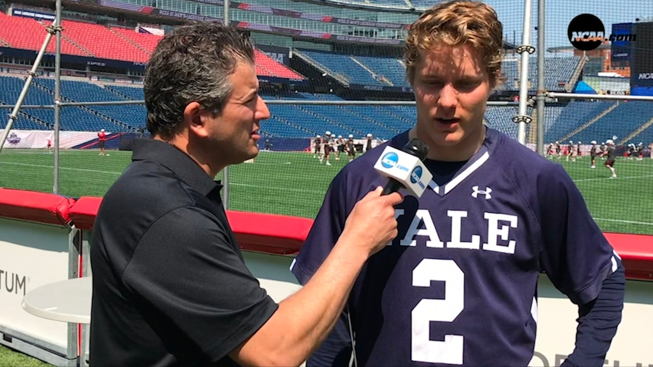 Yale S Ben Reeves Is Glad To Be Out Of The First Round
