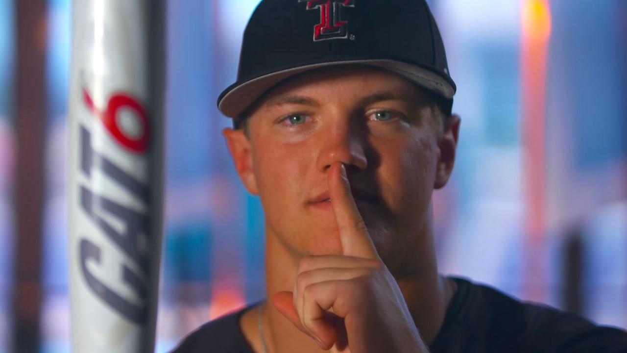 College World Series: Josh Jung's bat routine keeps Texas Tech guessing