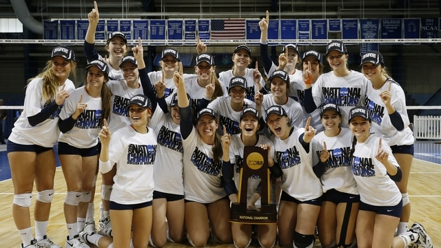 Hope wins the 2014 DIII Women's Volleyball Championship ...