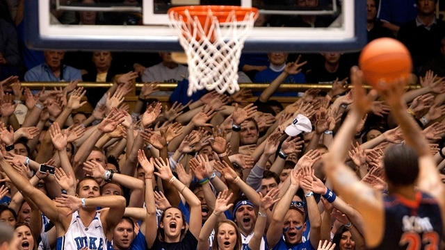 High Five College Basketballs Most Passionate Fans